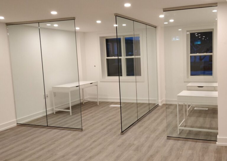 glass partitions toronto