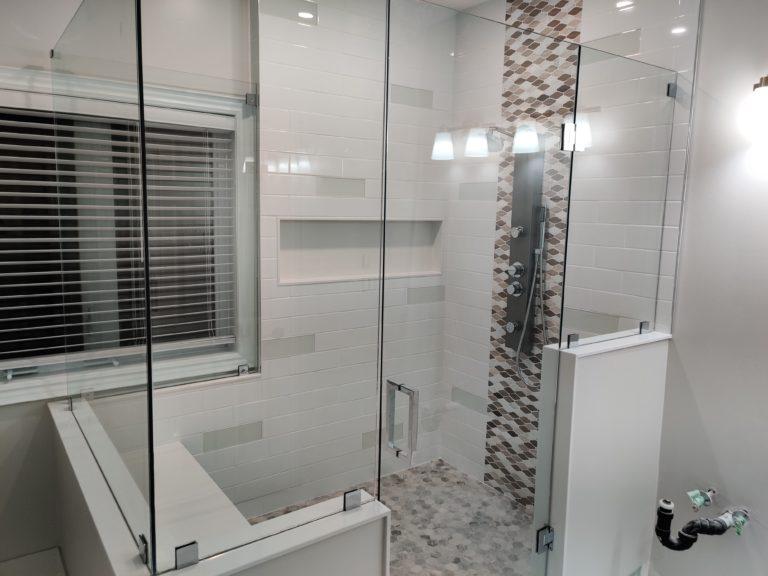 Frameless glass showers toronto